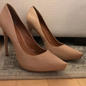 NEW Rachel Roy nude size 9.5 pointed toe pump